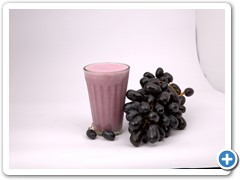 grape-lassi